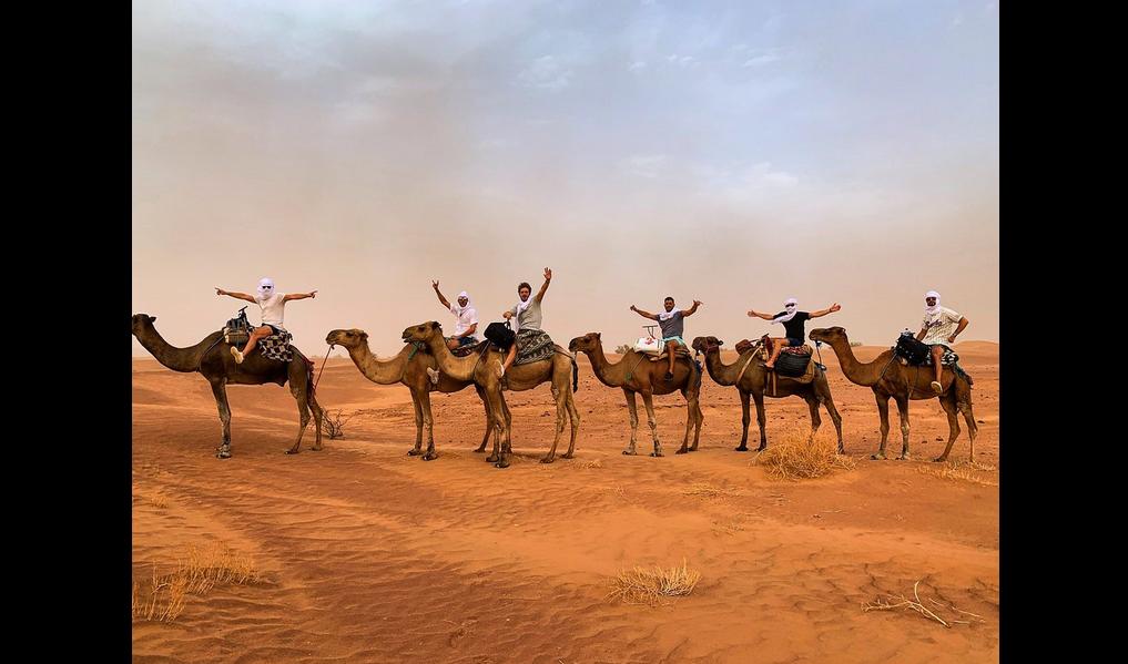 Trek Au Maroc -  Désert en perte de vue